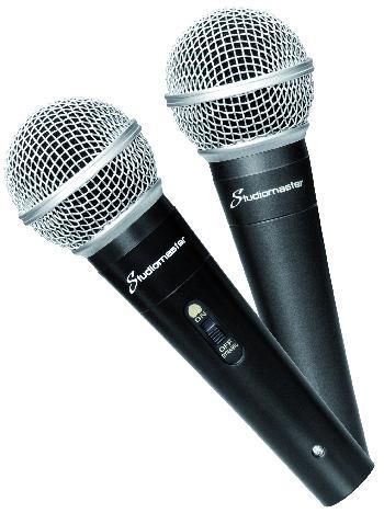Micrófonos Dinámicos Profesionales de alta performance, gran calidad de construcción y lo más importante, excelente sonido.