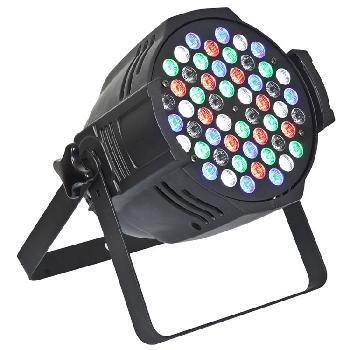 Spots de 54 Leds x 3W RGBW Profesionales de alta potencia y luminosidad.