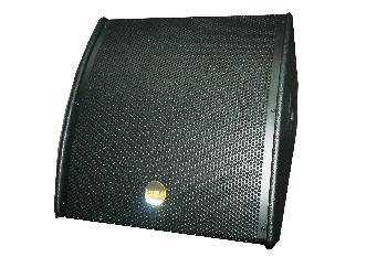 Monitores Coaxiales de piso con componentes Beyma de alta gama realizados en Fenólico de primera calidad y terminación con pintura poliurea.