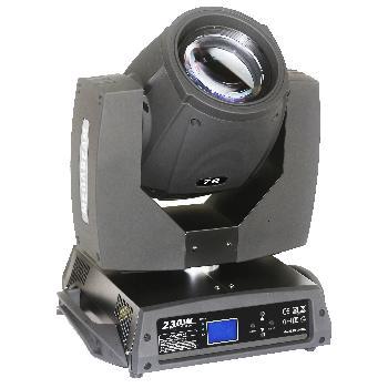 Cabezales Móviles Profesionales BEAM con lámpara OSRAM 7R de gran intensidad.