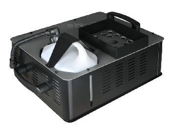 Máquinas de humo de 1.500W alta calidad con 18 Leds de 3W RGB. Proyección ascendente o descendente.