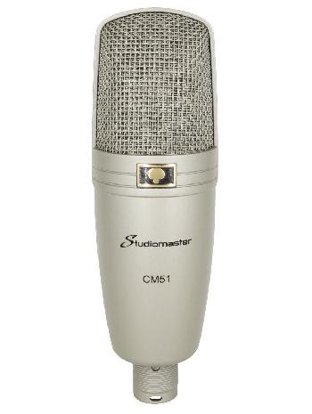 Micrófonos Condensadores Profesionales con USB de gran diafragma con excelente calidad de audio para aplicaciones de Estudio, Escenario y Broadcast.