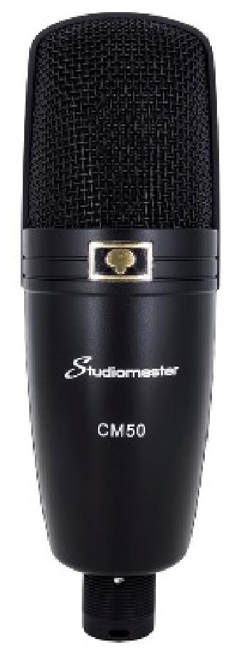 Micrófonos Condensadores Profesionales de gran diafragma con excelente calidad de audio para aplicaciones de Estudio, Escenario y Broadcast.
