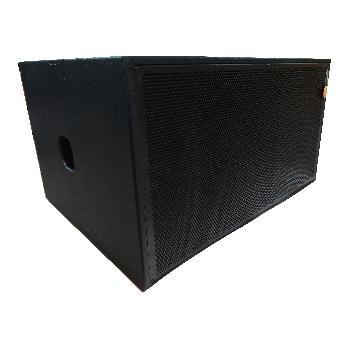 Gabinetes Acústicos SUBLOW Dobles con componentes Beyma de alta gama realizados en Fenólico de primera calidad y terminación con pintura poliurea.