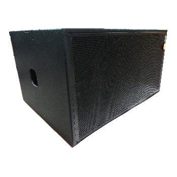 Gabinetes Acústicos SUBLOW Dobles con componentes Beyma de Neodimio de alta gama realizados en Fenólico de primera calidad y terminación con pintura poliurea.