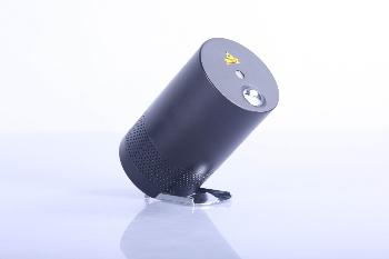 Proyectores Multimedia que combinan sistemas de Iluminación con Láser Multipunto+Led y de Sonido con conexión vía Bluetooth. COLOR BLANCO.