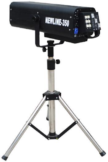 Seguidores Profesionales con lámpara 17R de alta potencia. Incluye trípode y Flight case.