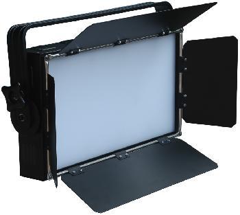 Paneles de Leds para usos en estudios o exteriores, con difusor incorporado ofreciendo una iluminación suave y de alta potencia.