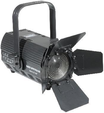Spots Fresnel de Led de alta potencia con Zoom y Pantalla de regulacióndel ángulo de iluminación.