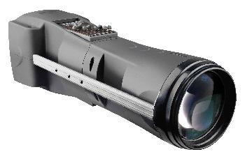 Seguidor Profesional con lámpara 15R de alta potencia y gran precisión con control manual y DMX. Incluye trípode y Flight case.