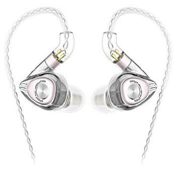 Monitores in-ear Híbridos de alta resolución con certificado de calidad HI-RES para músicos y audiófilos.