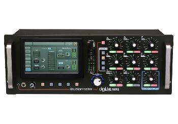 Consola Digital de Sonido Ultra Compacta para montaje en Rack, con pantalla táctil y control remoto a través de Tablets.