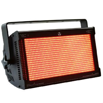Estrobos RGB Profesionales de alto rendimiento y gran versatilidad por su amplia cobertura, su potente efecto blinder y su múltiple combinación de macros de color.