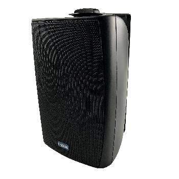 Bafles para instalaciones comerciales y música funcional con transformador de línea incorporado, de excelente calidad de sonido y novedoso diseño.
