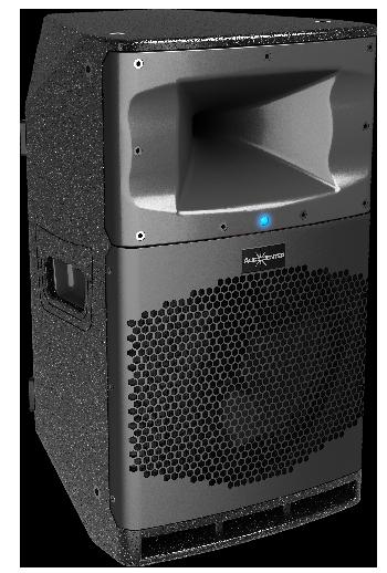 Gabinetes Acústicos Activos Multi-propósito Profesionales controlados por DSP, con Bluetooth incorporado. Alta performance y excelente relación entre precio-calidad-rendimiento.