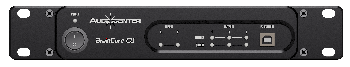 Procesadores digitales de sonido profesionales con 2 entradas y 3 salidas.