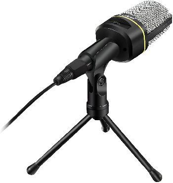 Micrófonos condensadores para grabación y transmisión de voces con conexión directa con PCs.