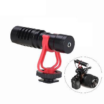Micrófonos shotgun cortos para conexión directa con diferentes tipos de cámaras, smartphones, camcorders, grabadores de audio, PCs y otros dispositivos de grabación de audio/video.