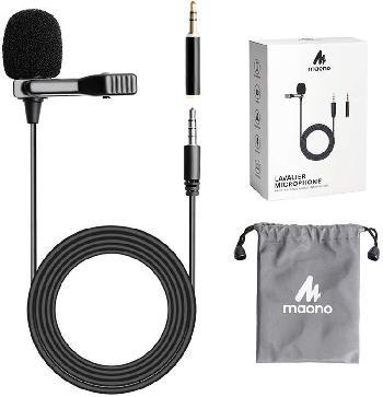 Micrófonos lavalier ultra-versátiles para conexión directa con smartphones, laptos y PCs.