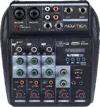 Consolas mezcladoras de sonido multi-función ultra versátiles y compactas con interface de sonido USB integrada para conexión directa con PC / Laptop.